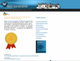acm.org.ir screenshot