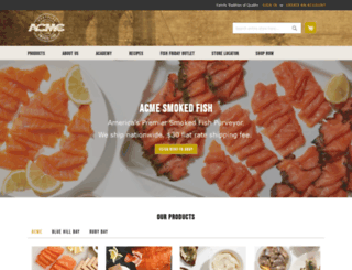 acmesmokedfish.com screenshot