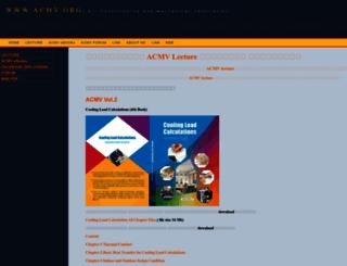 acmv.org screenshot