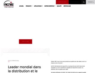 acnis-titanium.com screenshot