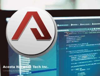 acostanetworktech.net screenshot