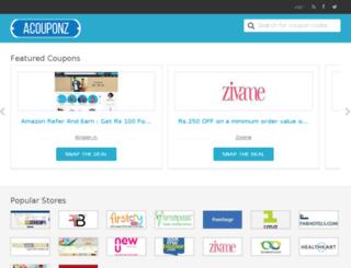 acouponz.com screenshot