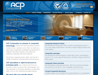 acp-composites.com screenshot