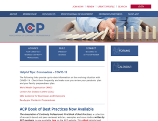 acp-international.com screenshot