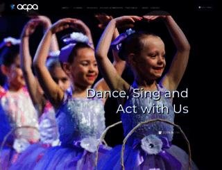 acpa.com.au screenshot