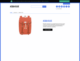 acquablue.ombushop.com screenshot