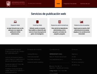 acreditacion.udistrital.edu.co screenshot