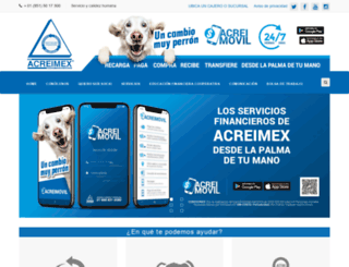 acreimex.mx screenshot