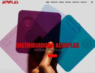 acriplass.com screenshot