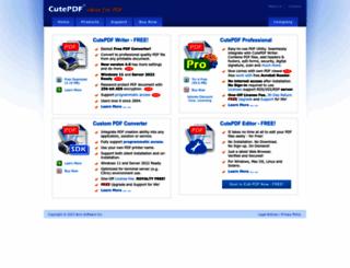 acrosoftware.com screenshot