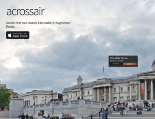acrossair.com screenshot