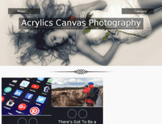 acrylicscanvasphotography.com screenshot