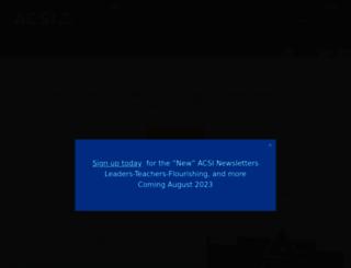 acsi.org screenshot
