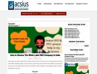 acsiusseoservicesindia.blogspot.com screenshot