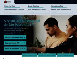 acsp.com.br screenshot