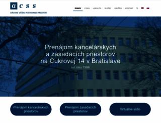 acss.sk screenshot
