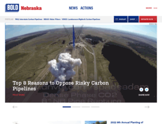 act.boldnebraska.org screenshot