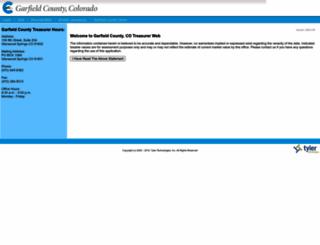 act.garfield-county.com screenshot