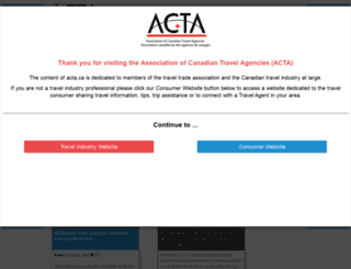 acta.ca screenshot