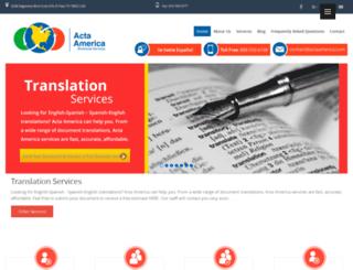 actaamerica.com screenshot
