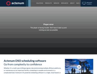 actenum.com screenshot