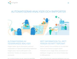actigate.com screenshot