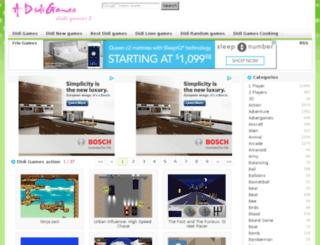 action.adidigames.com screenshot
