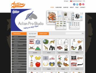 actionartclub.com screenshot