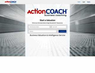 actioncoach.bizequity.com screenshot