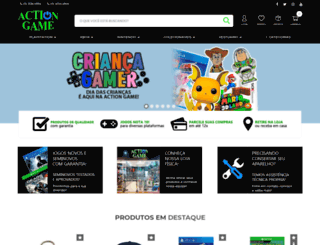 actiongame.com.br screenshot