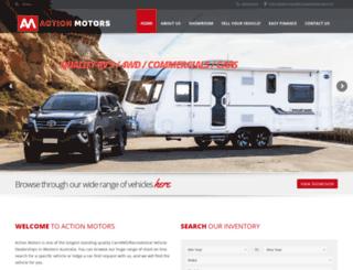actionmotors.com.au screenshot