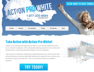 actionprowhite.com screenshot