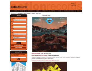 actionrecords.co.uk screenshot