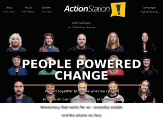 actionstation.nationbuilder.com screenshot