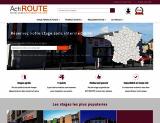 actiroute.com screenshot