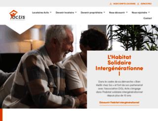 actis.fr screenshot