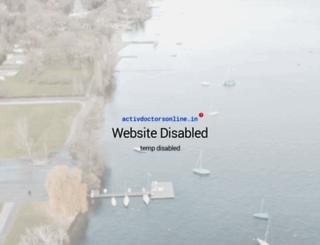 activdoctorsonline.in screenshot
