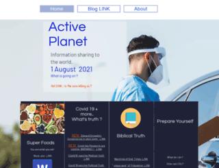 active-planet.com screenshot