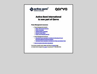 active-semi.com screenshot