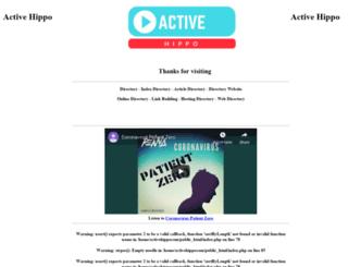activehippo.com.au screenshot