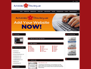 activelinksdirectory.com screenshot
