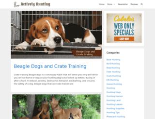 activelyhunting.com screenshot