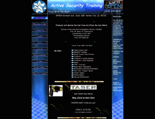 activesecuritytraining.com screenshot