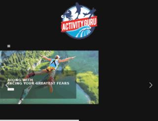activityguru.co.za screenshot