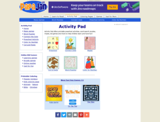 activitypad.com screenshot