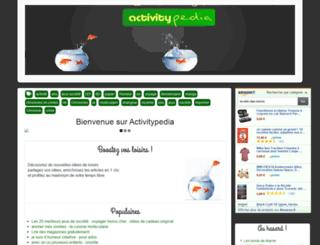 activitypedia.org screenshot