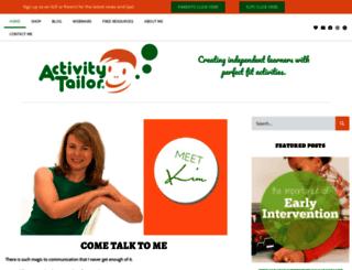 activitytailor.com screenshot