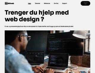 actiweb.no screenshot