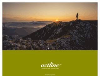 actline.at screenshot