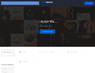 actorme.studiosharp.net screenshot